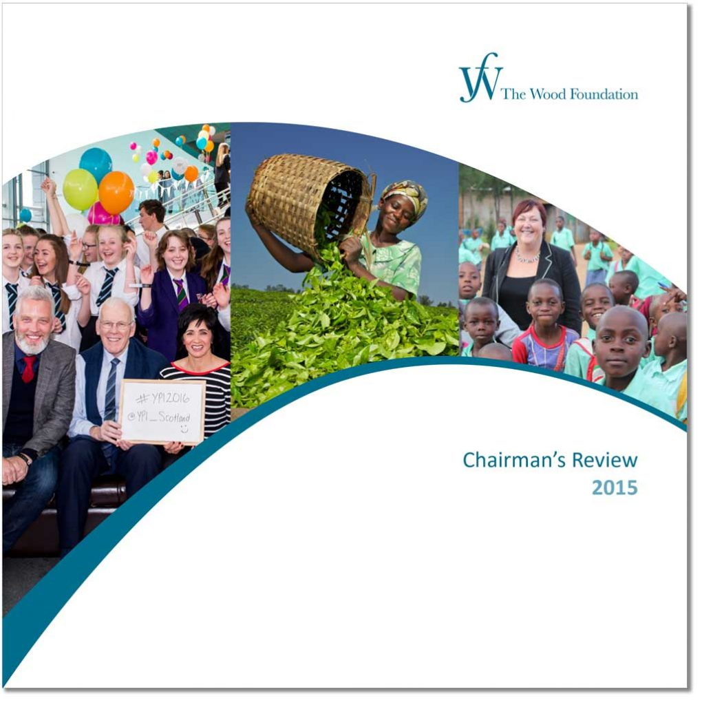 The Wood Foundation Chairman's Review 2015