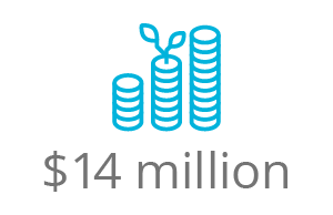 14 million investment