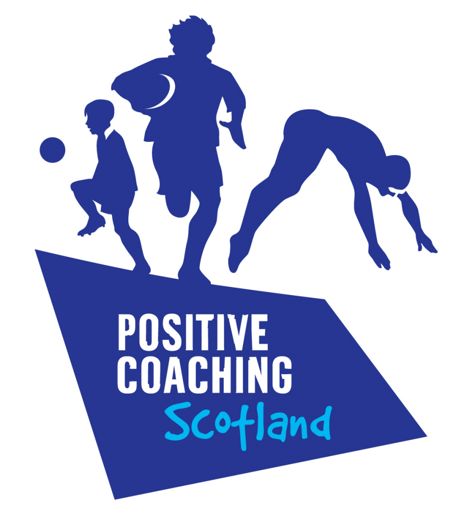 Positive Coaching Scotland logo